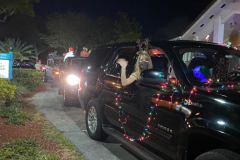 Festive Car Parade