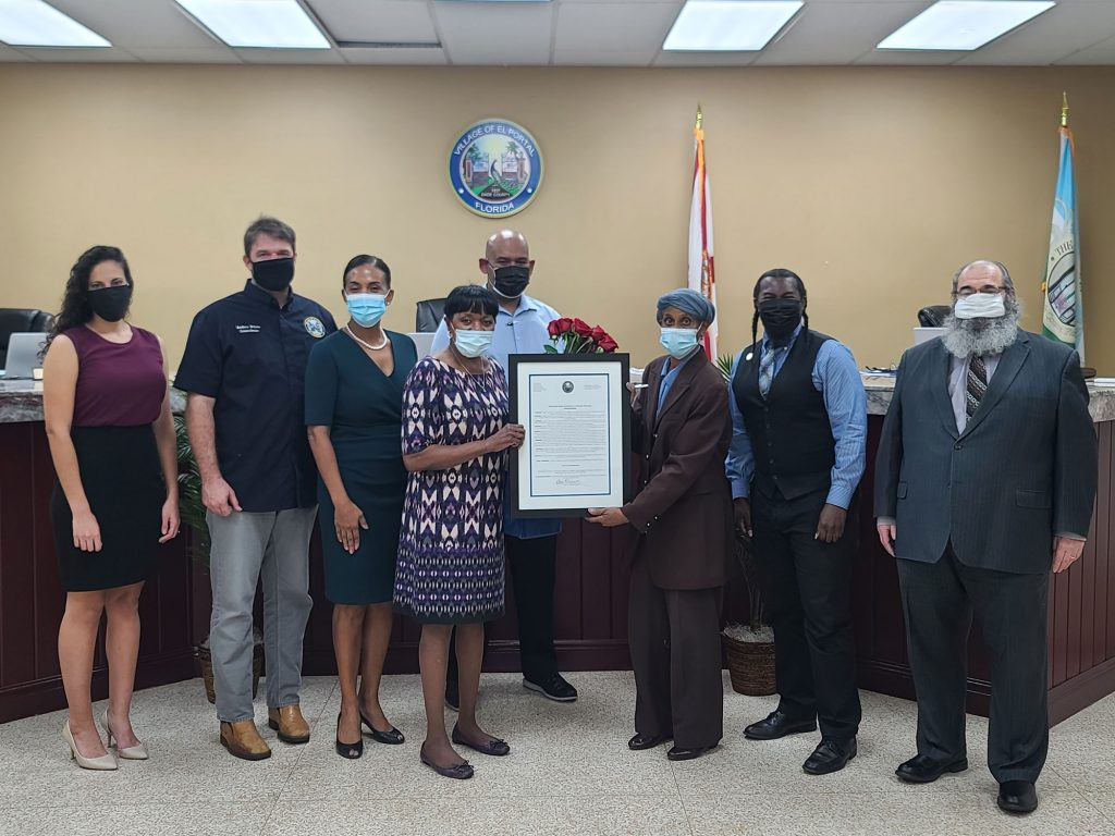 Proclamation for the Life's Work of County Commissioner/Mayor of El Portal, Audrey M. Edmonson