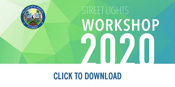 Street Lights Workshop