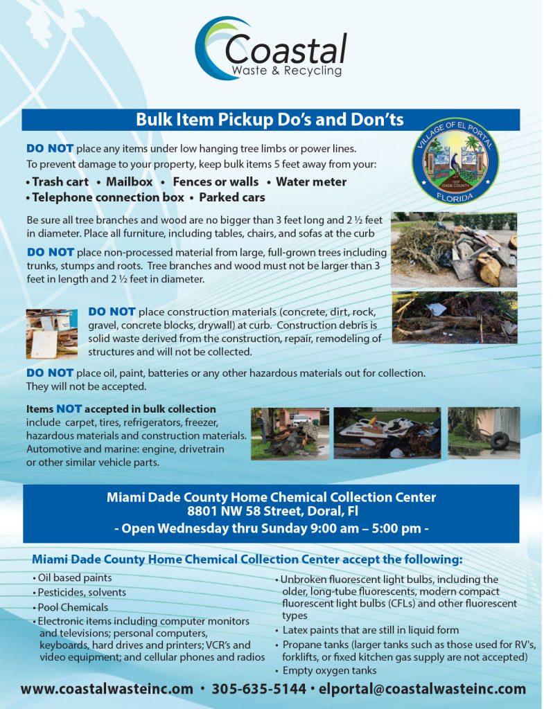 Coastal Bulk Items Dos and Don'ts