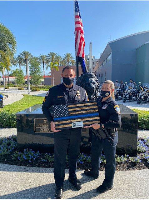 Officer Poveda represented the El Portal Police Department