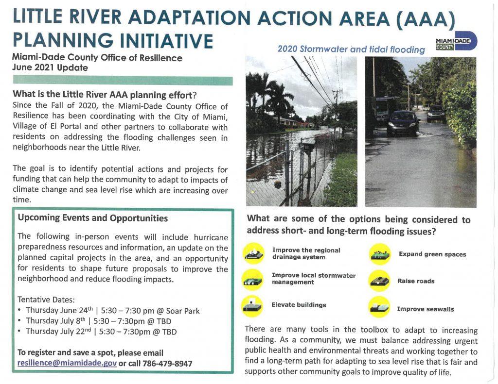 Little River Adaption Action Area