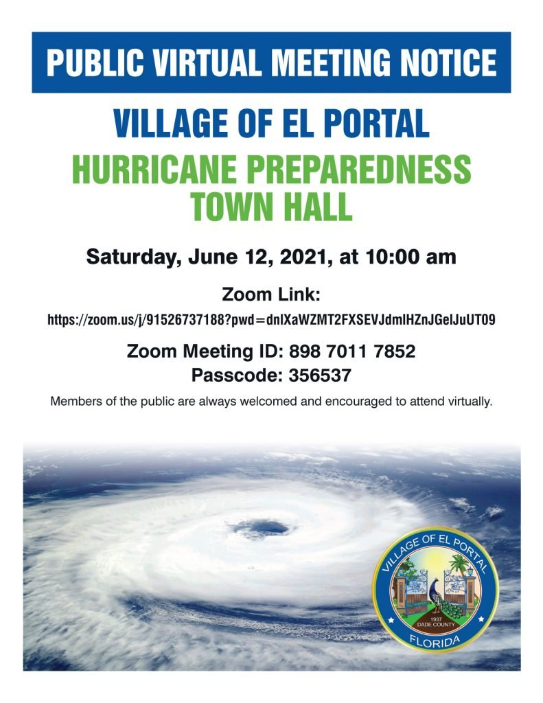 Hurricane Town Hall